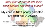 Custom Business Card - Autism Awareness