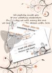 Custom Designed Wedding Stationery